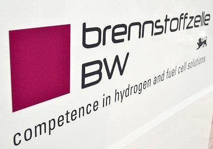Логотип кластера топливных элементов BW