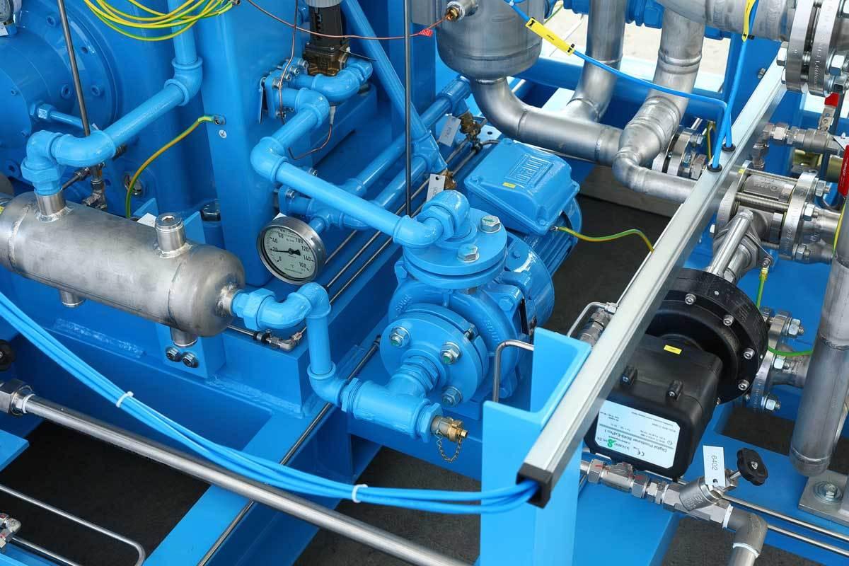 Mehrer Поршневой компрессор TRZ 700