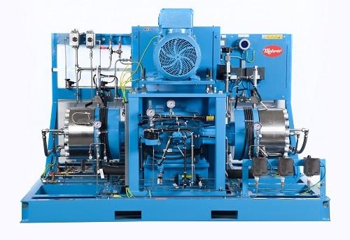 first Mehrer Diaphragm compressor