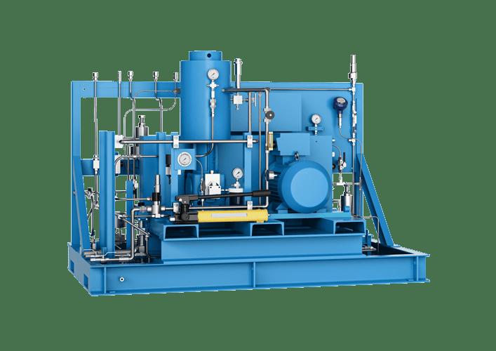 diaphragm compressor Mehrer