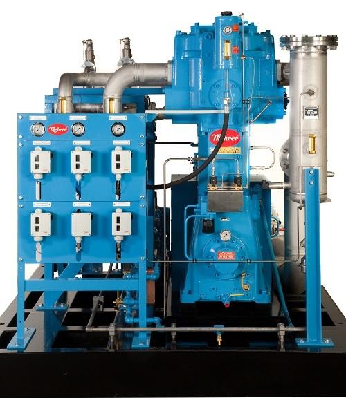 Oil-free piston compressor Mehrer TRZ 1000