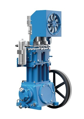 Compresor de pistón exento de aceite Mehrer Serie TRX 400