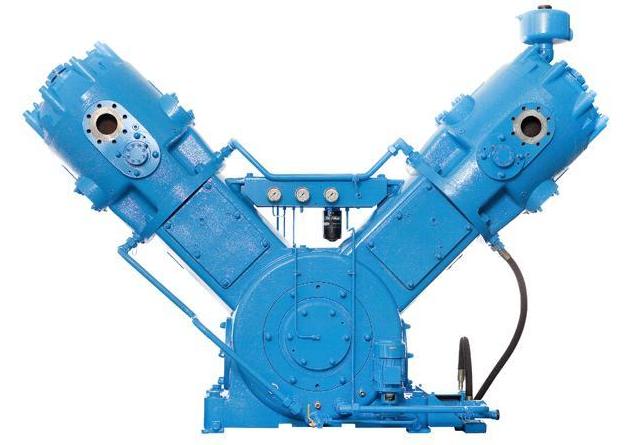 Oil-free piston compressor Mehrer TVX 900 series